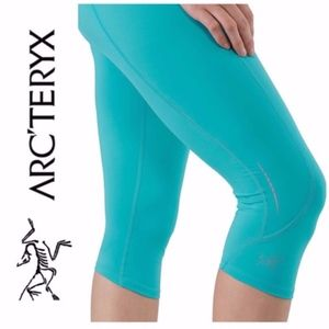NWOT Arc'teryx Cita 3/4 Cropped Tight Leggings